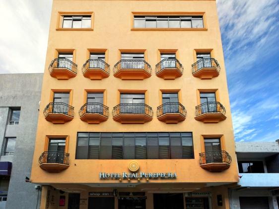Hotel real Purepecha Zacapu Michoacán